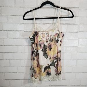 Maurices Tops - Maurice's floral lace tank top